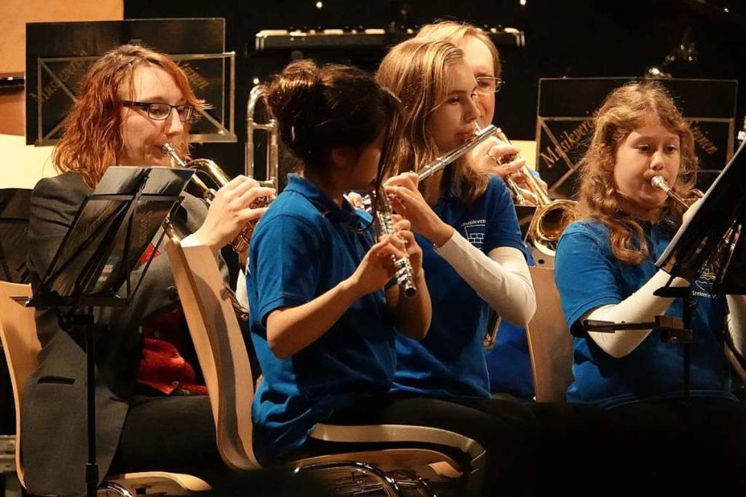 Jahreskonzert des Musikvereins Steinen.    Foto: Hege
