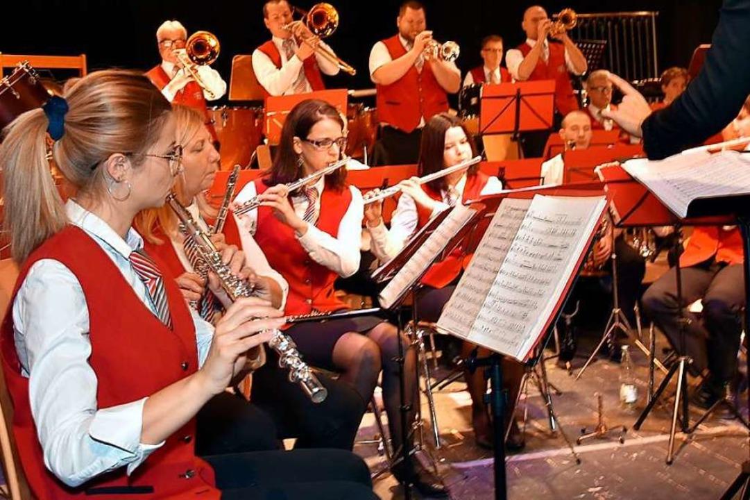 Jahreskonzert des Musikvereins Herten.    Foto: Heinz und Monika Vollmar