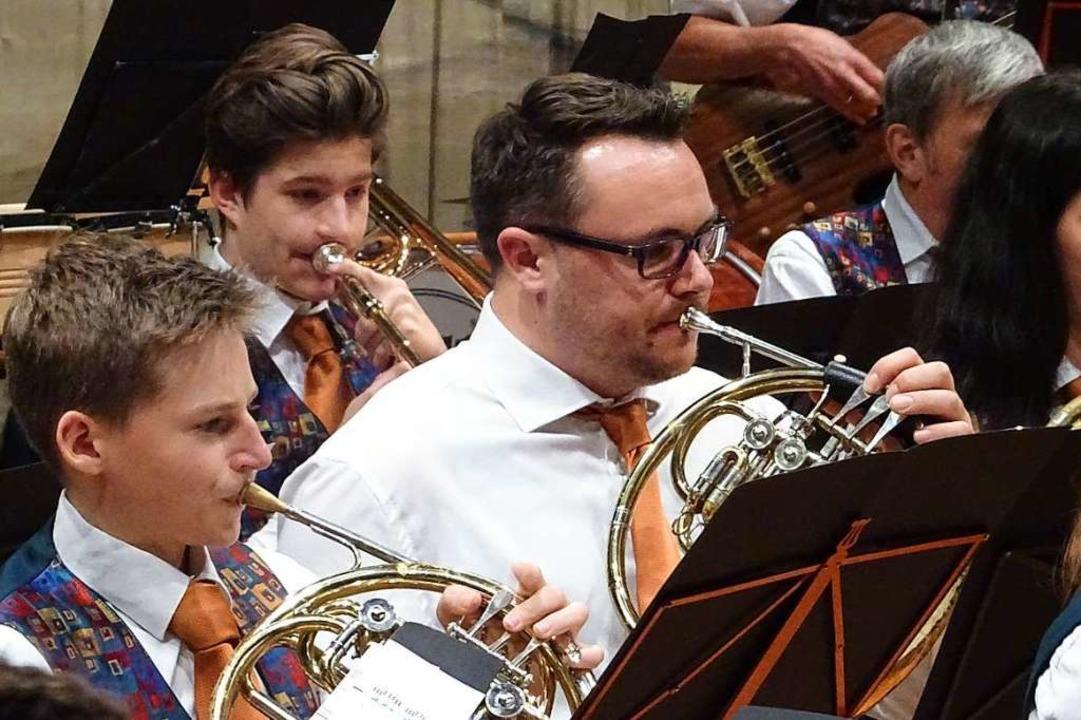 Jahreskonzert der Stadtmusik Weil am Rhein.    Foto: Yvonne Siemann
