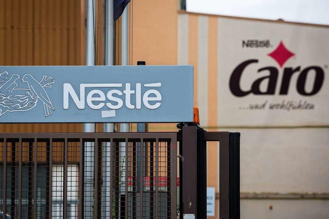 Das Caro-Werk von Nestle. Das Traditio...ffee wird Ende des Jahres geschlossen.  | Foto: dpa