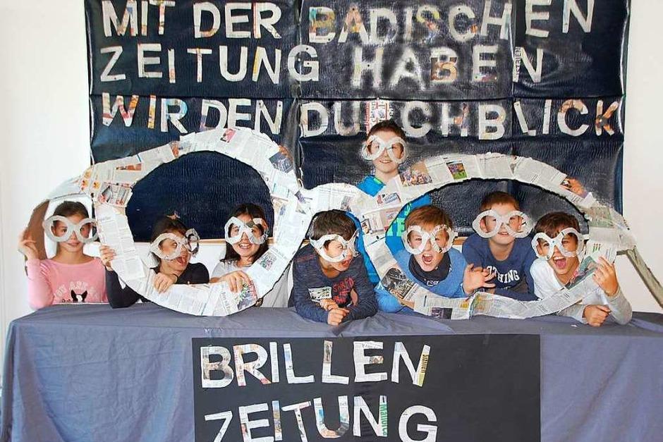 Platz 1, Ausgabe Emmendingen/Ortenau: Klasse 4/Planetenklasse, Grundschule Schuttertal (Foto: Privat)