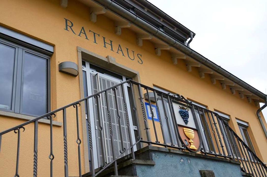 Rathaus von Ballrechten-Dottingen  | Foto: Martin Pfefferle