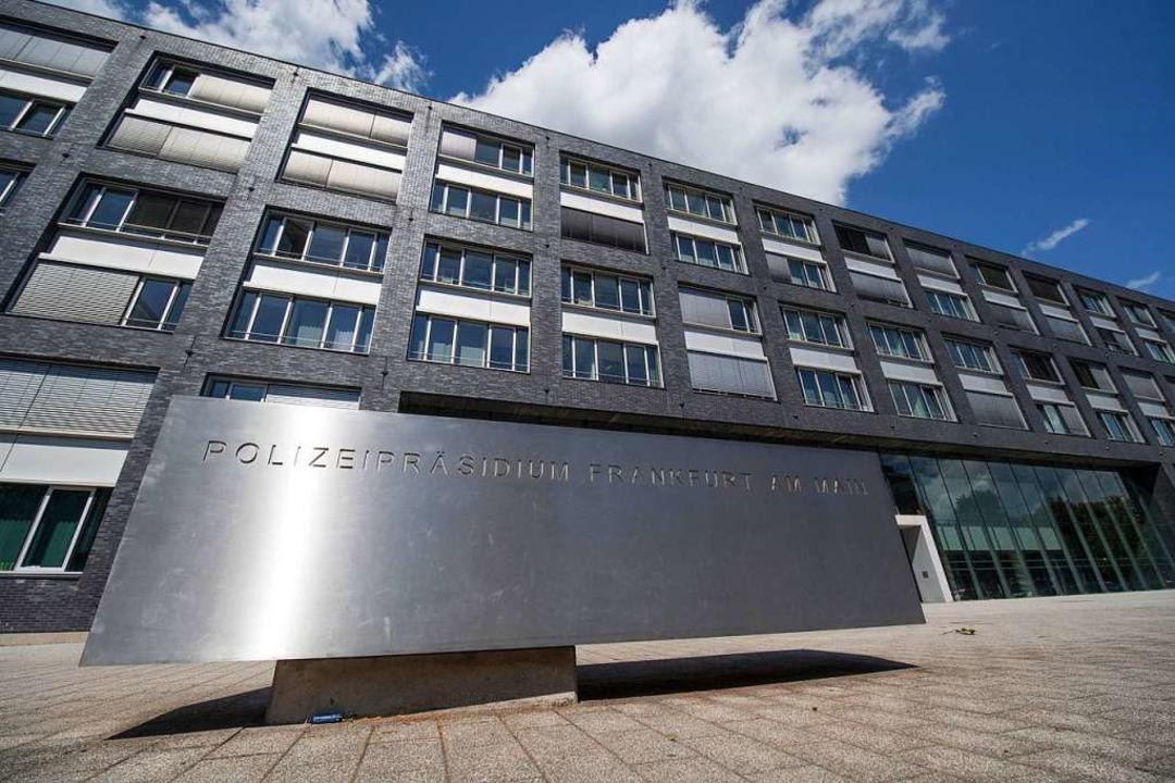 Das Polizeipräsidium in Frankfurt am Main.    Foto: dpa
