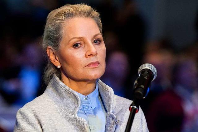 AfD-Bundesvorstand beantragt Parteiausschluss von Landesvorsitzender Sayn-Wittgenstein