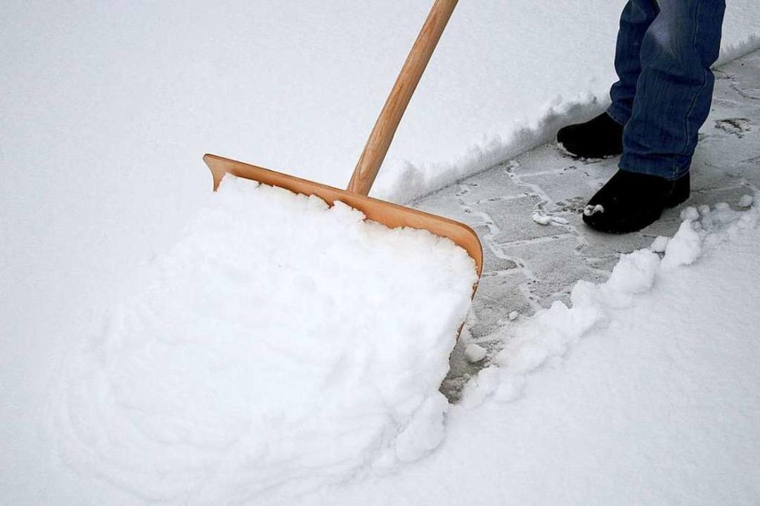 Macht Schneeschieben aggressiv?    Foto: fotolia.com/momanuma