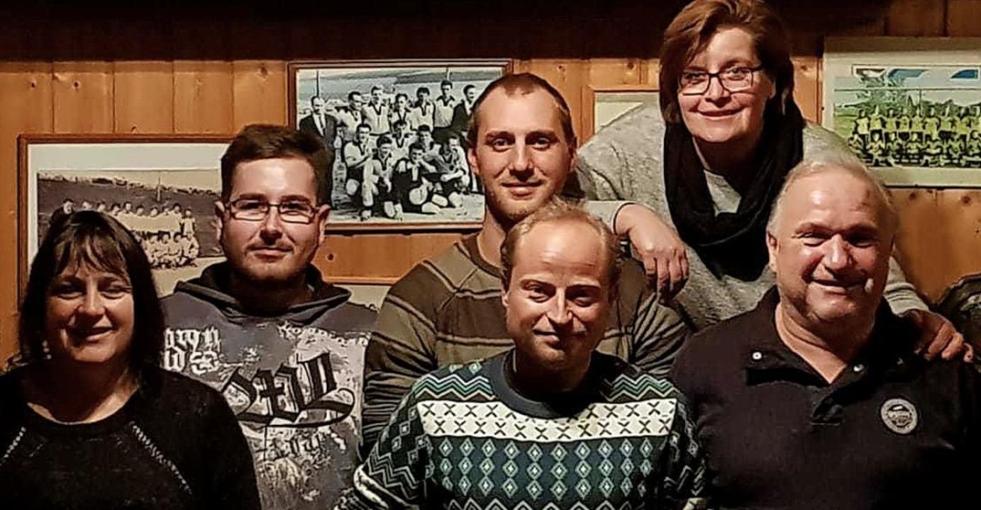 Der Vorstand des FC Herrischried (von ...ng Eckert (Vorsitzender Sportbereich)   | Foto: FC Herrischried