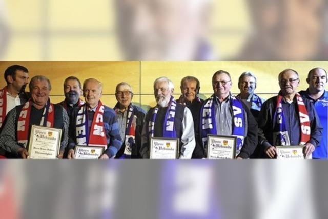 Urgesteine des SV Gresgen erhalten Ehrenmitgliedschaften