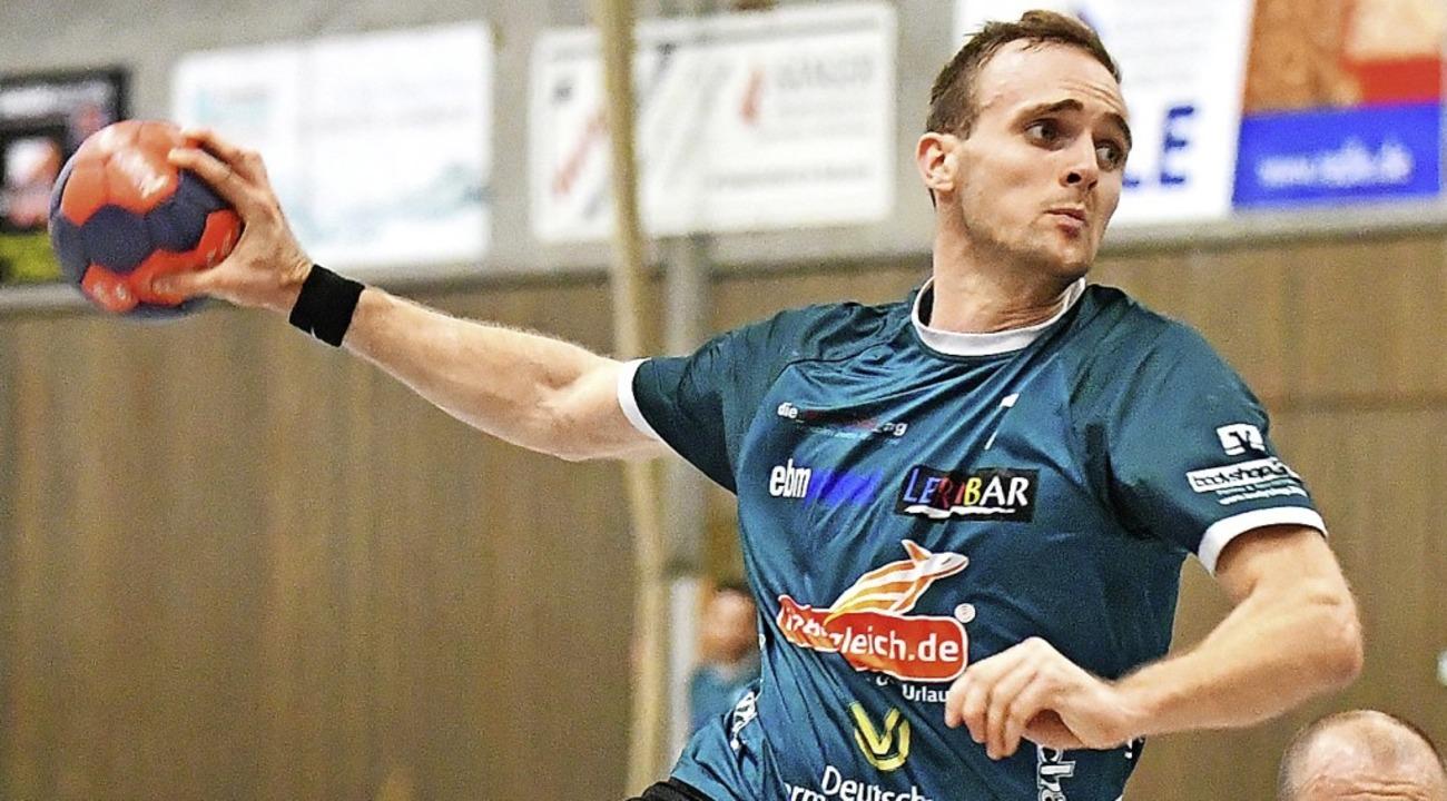 Yannik Guth steuerte drei Treffer zum Erfolg des TVH bei.     Foto: Archivfoto: Keller