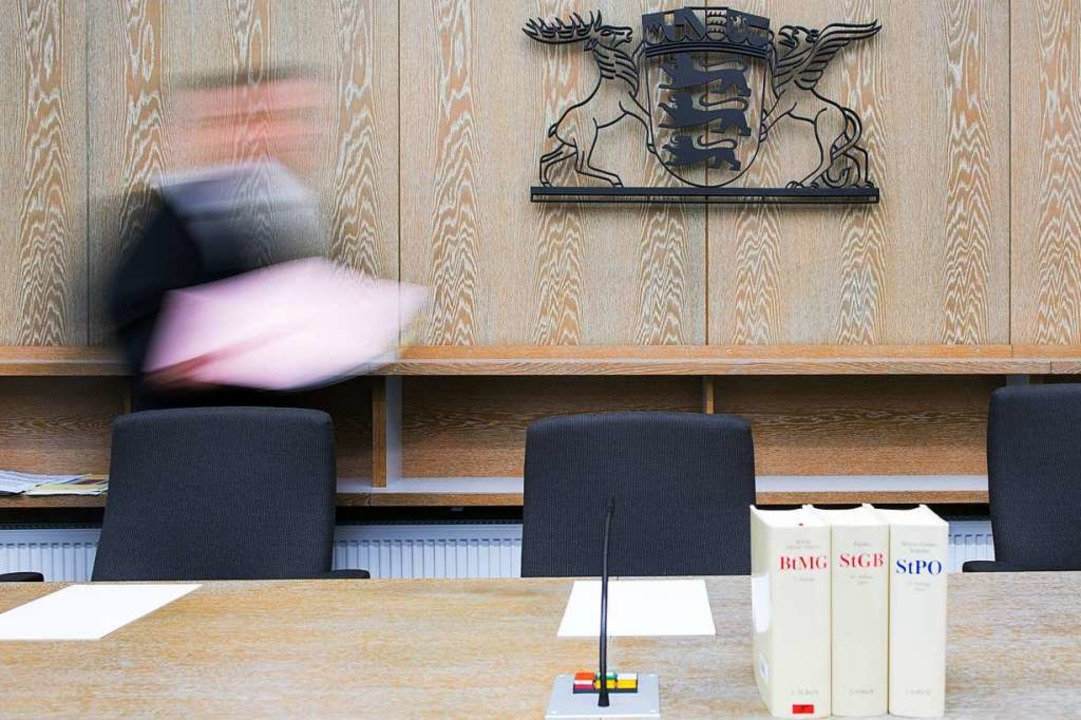 Im  Amtsgericht Mannheim geht es um ei...ewöhnlichen Fall von Friedensstörung.   | Foto: dpa