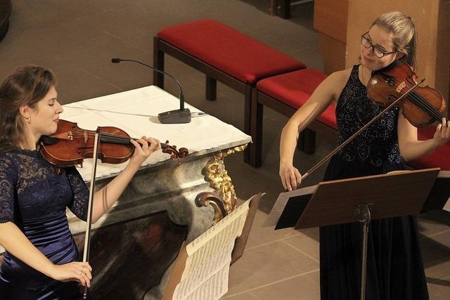 Musikalische Reise für zwei Violinen