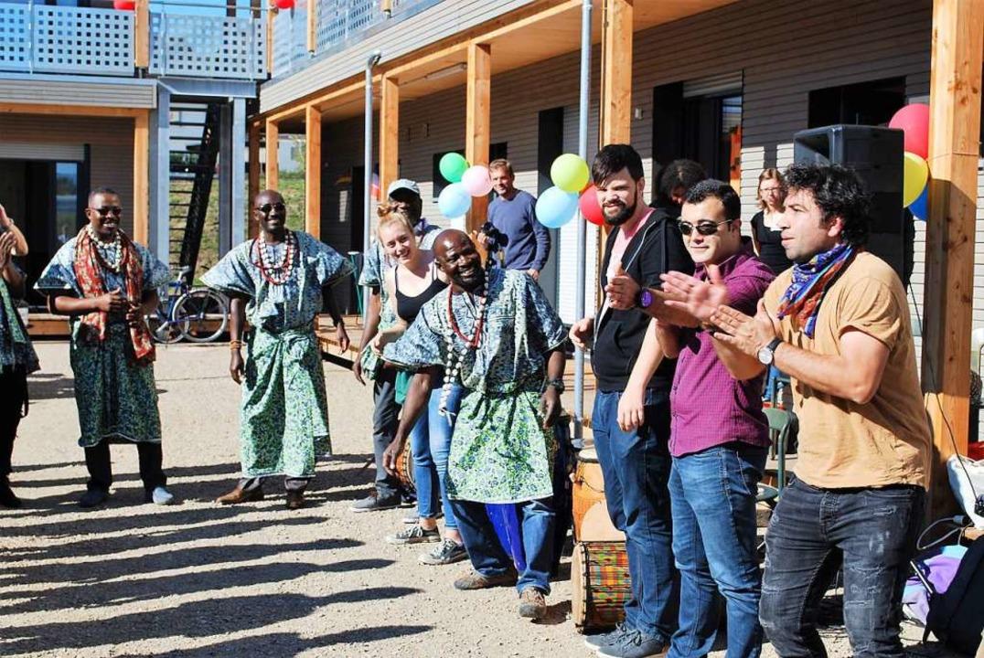 Caritas und Diakonie wollen die Unters...erbstfest in der Unterkunft in Haagen.  | Foto: Thomas Loisl Mink