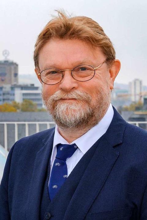 Ministerialdirektor Uwe Lahl, Amtschef des Landesverkehrsministeriums  | Foto: Joachim E. Roettgers GRAFFITI