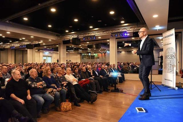 Jörg Löhr erklärte BZ-Lesern, wie man mit optimistischem Denken erfolgreich ist