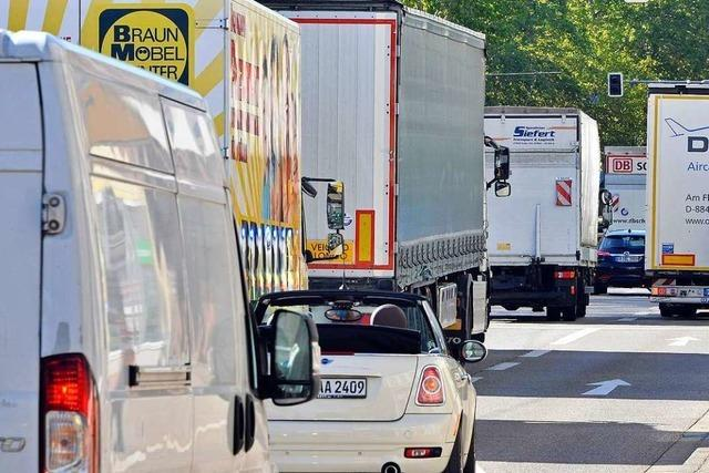 Fahrverbots-Antrag mit falschen Zahlen: Nicht 62 sondern 18 Prozent mehr Lkw auf B31