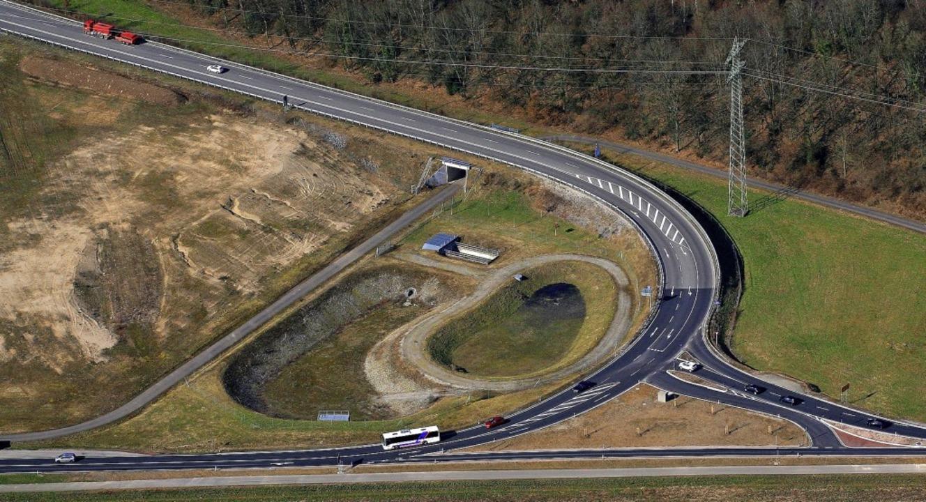 Bei Murg-Rothaus endet derzeit die  A9...enschluss kommt, ist weiter fraglich.   | Foto: Erich Meyer