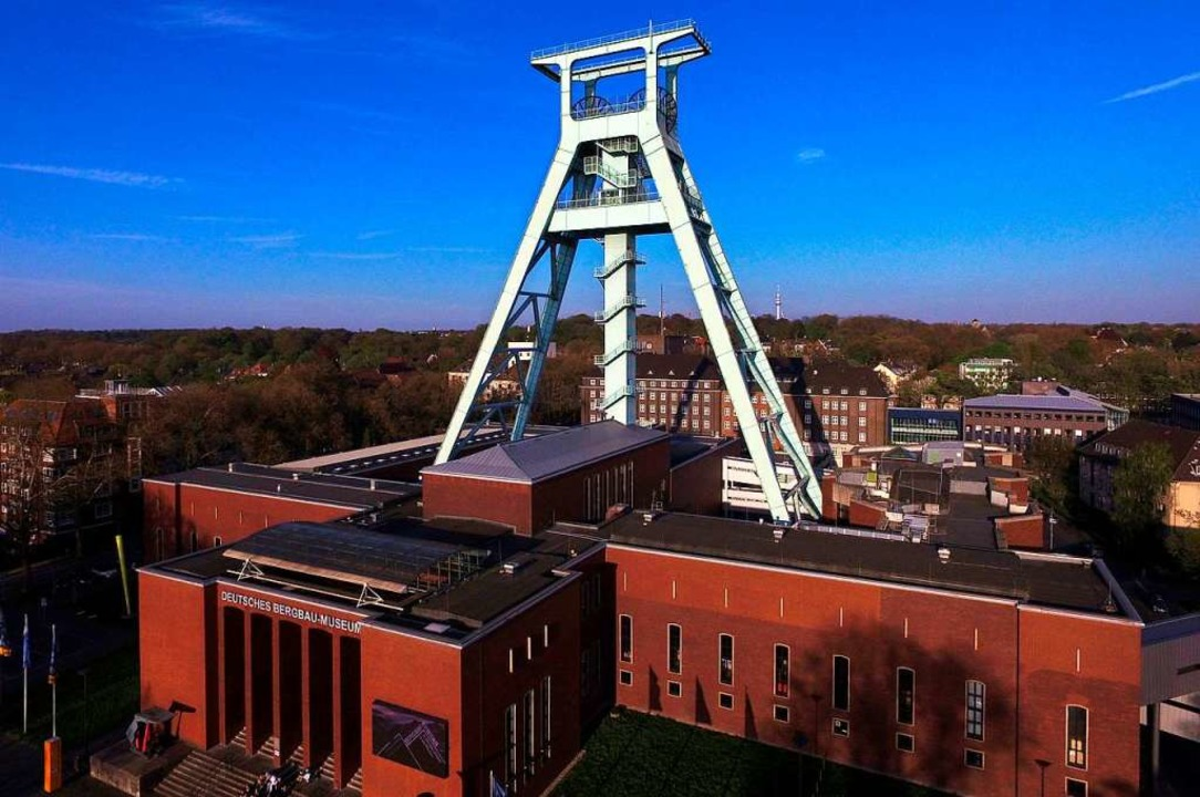 Das Deutsche Bergbau-Museum in Bochum.   | Foto: DPA