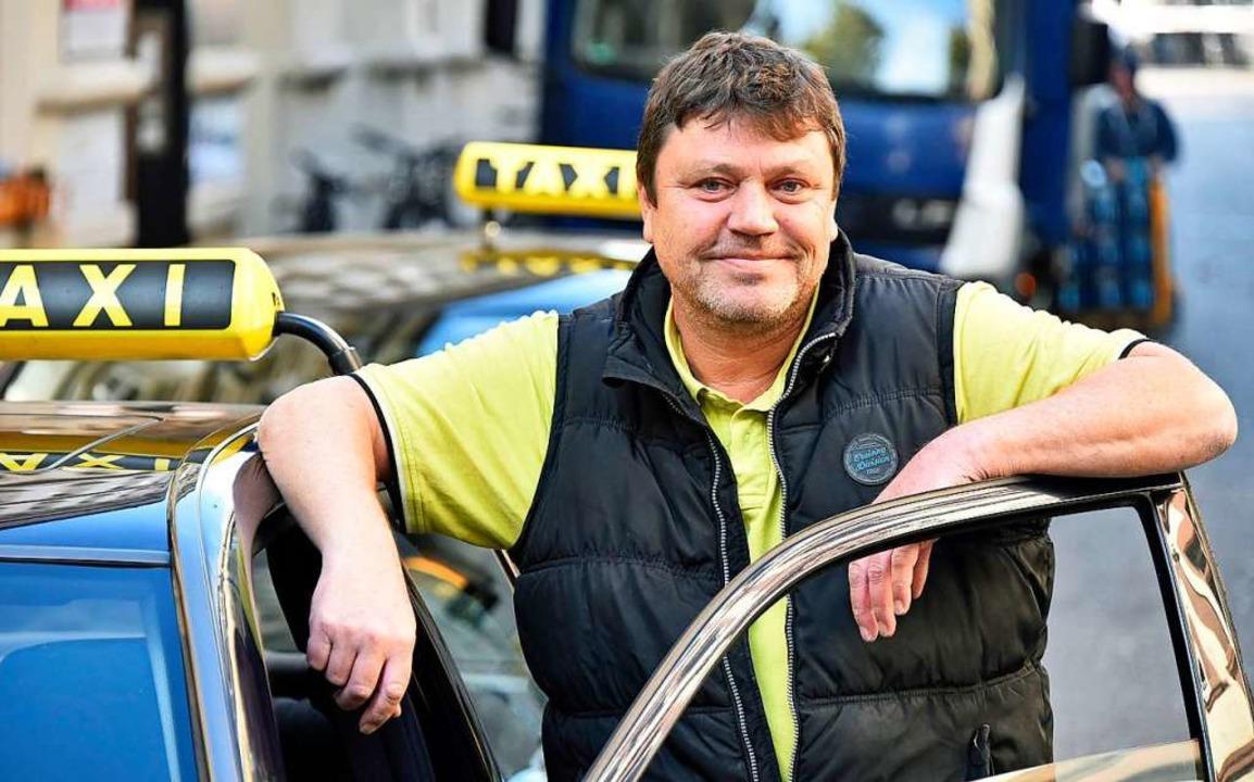 Selbstfahrender Unternehmer: Frank Witte    Foto: Michael Bamberger