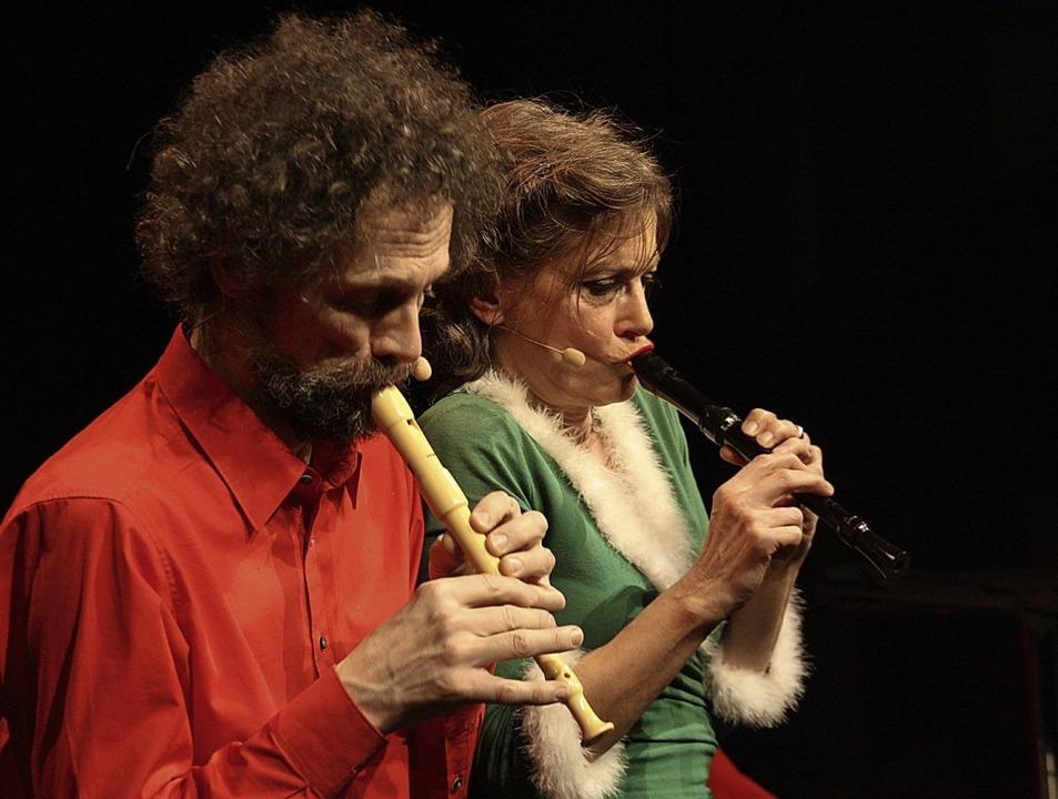 Madeleine Saveur und Clemens Maria Kitschen    Foto: Christiane Franz