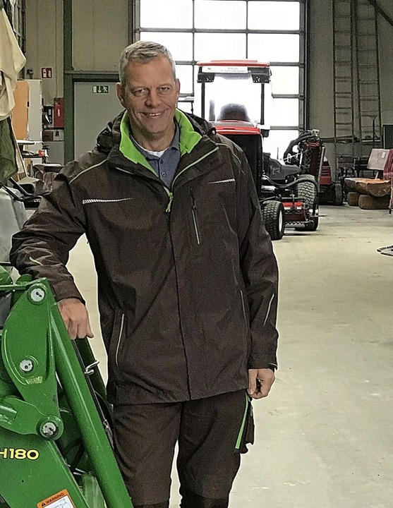 Headgreenkeeper Jens Martens   | Foto: Laurids Bordne