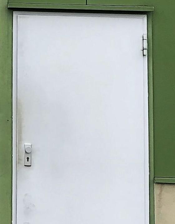 Die Tür zur Halle  | Foto: Laurids Bordne