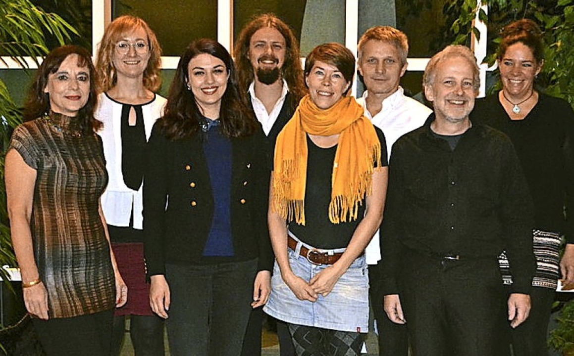 Die Akteure des 12. Sinneswandels in Endingen   | Foto: privat