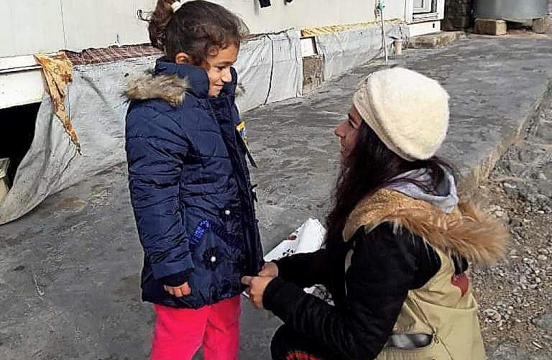 Kinder sollen nicht frieren: Zarok sorgte für warme Kleider.   | Foto: privat