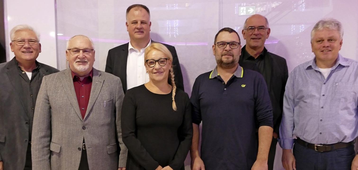Die Kandidaten der Bad Säckinger Freie...hnig, Tilmann Frank und Wolfgang Wenk   | Foto: Axel Kremp