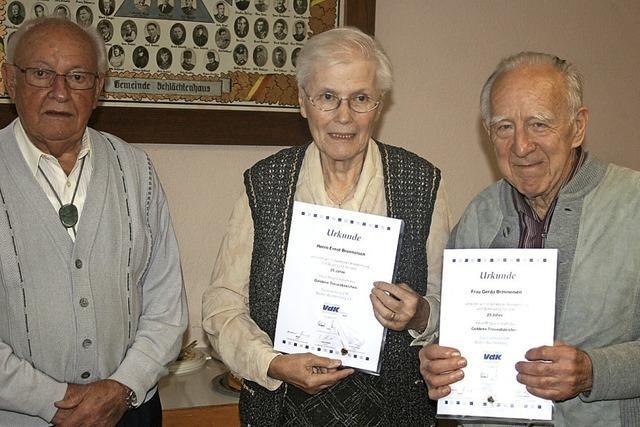 Den VdK Weitenau gibt's seit 70 Jahren