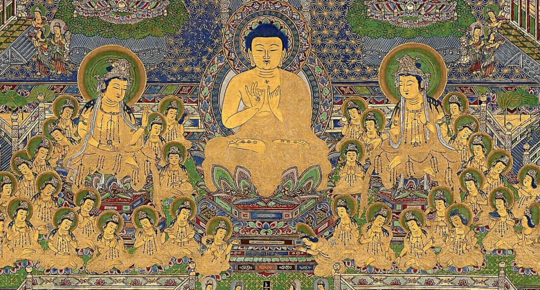 Taima-Mandala, Japan, Edo-Zeit (18. Jahrhundert)  | Foto: Museum