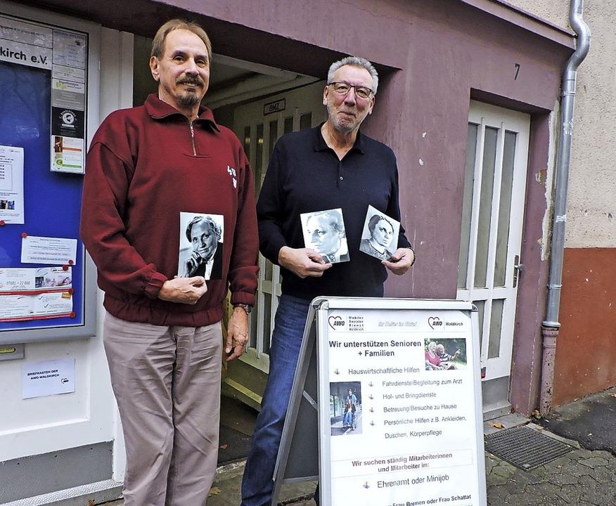 Die Arbeiterwohlfahrt wird 100 Jahre a...rsitzende Klaus Laxander (von links).   | Foto: Sylvia Sredniawa