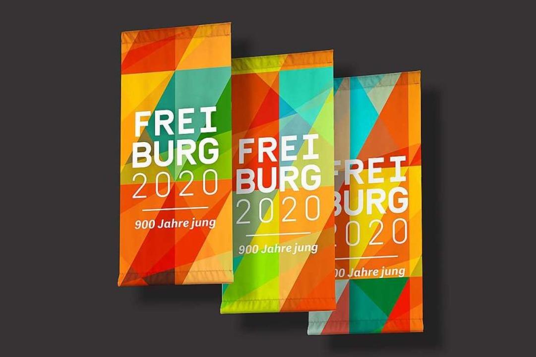 Werbung fürs  Stadtjubiläum  | Foto: Stadt Freiburg