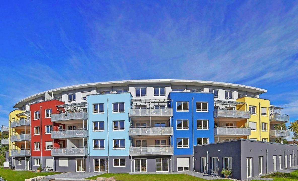 Das gemeinschaftsorientierte Wohnproje...13 sind die Bewohner dort eingezogen.   | Foto: Roland Krieg