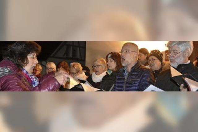 Singend die Krise überwunden
