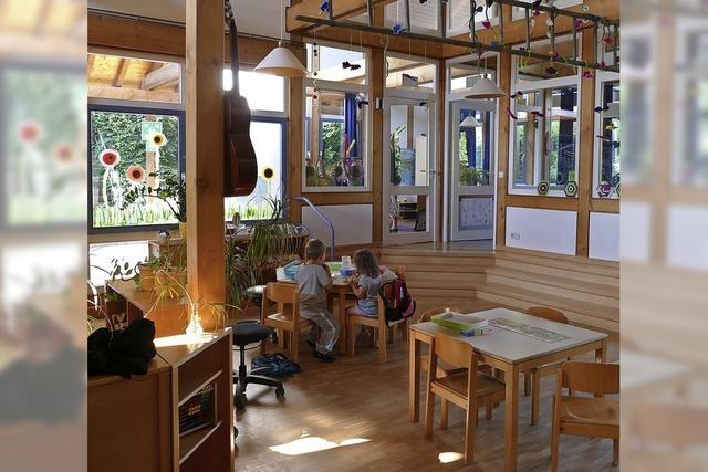 Kleiner Kindergarten wächst