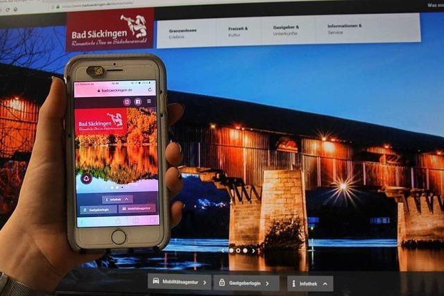 Die neue Tourismuswebseite von Bad Säckingen im Schnellcheck