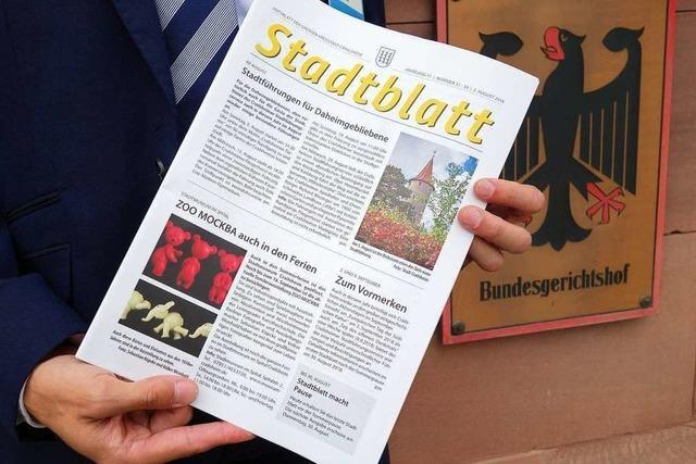 BGH-Urteil: Städte dürfen der freien Presse keine Konkurrenz machen