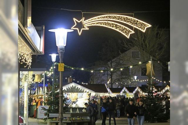 Weihnachtsstimmung in Bad Krozingen