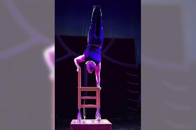 Weihnachtszirkus mit Zirkus Lamberti in Emmendingen