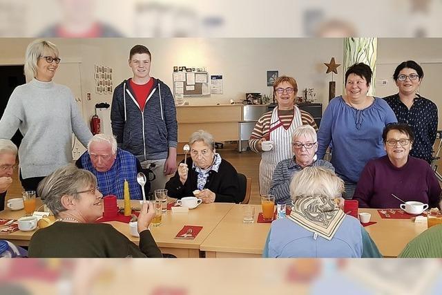 Suppe für Senioren