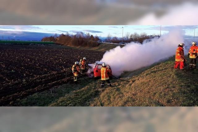 Feuerwehreinsatz in Kenzingen