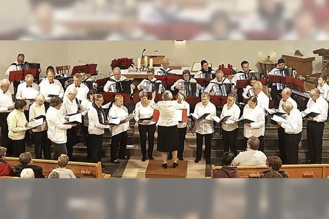 Akkordeon trifft auf Chormusik