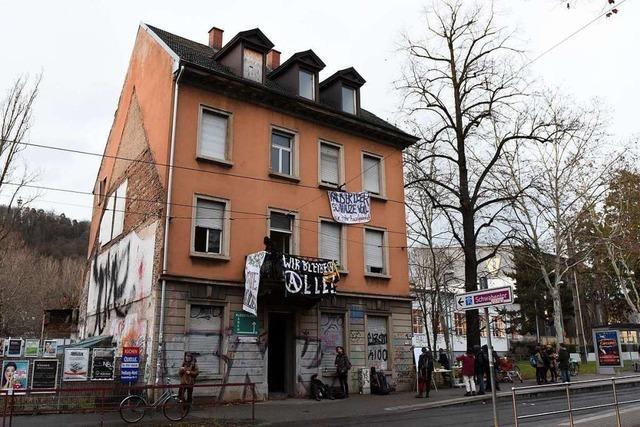 Polizei soll besetztes Haus räumen – doch Besetzer sind weg