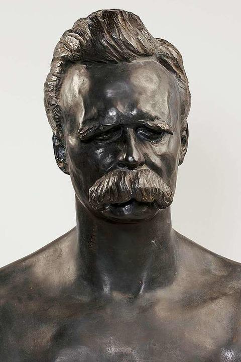 Büste von  Nietzsche, geschaffen von Max Klinger    Foto: Städel Museum
