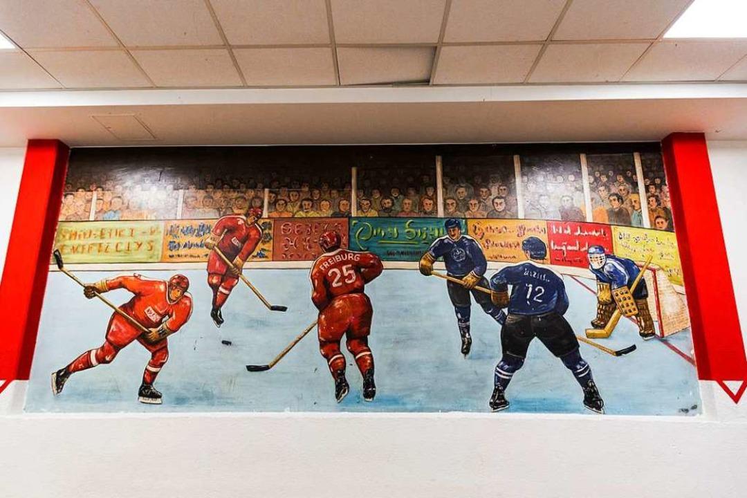 Die Eishalle ist in die Jahre gekommen.  | Foto: Carlotta Huber