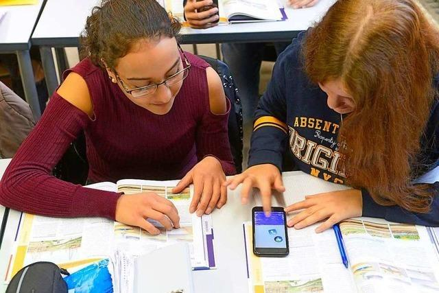 Freiburger Schüler setzen einen Smartphone-Tag durch