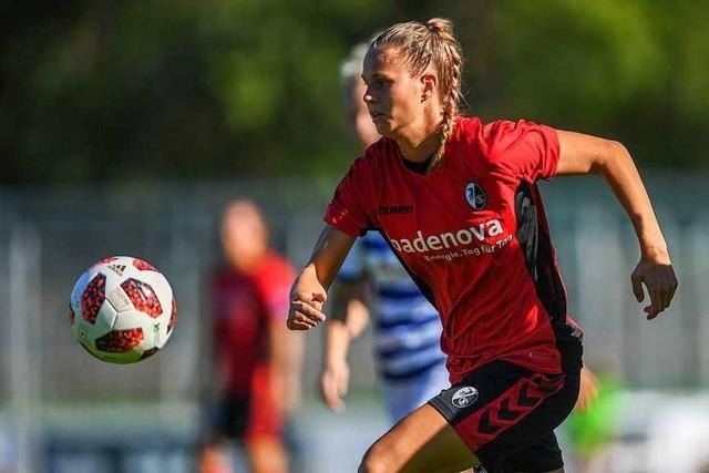 Drei Spielerinnen des SC Freiburg dürfen ins Trainingslager des Frauen-Nationalteams