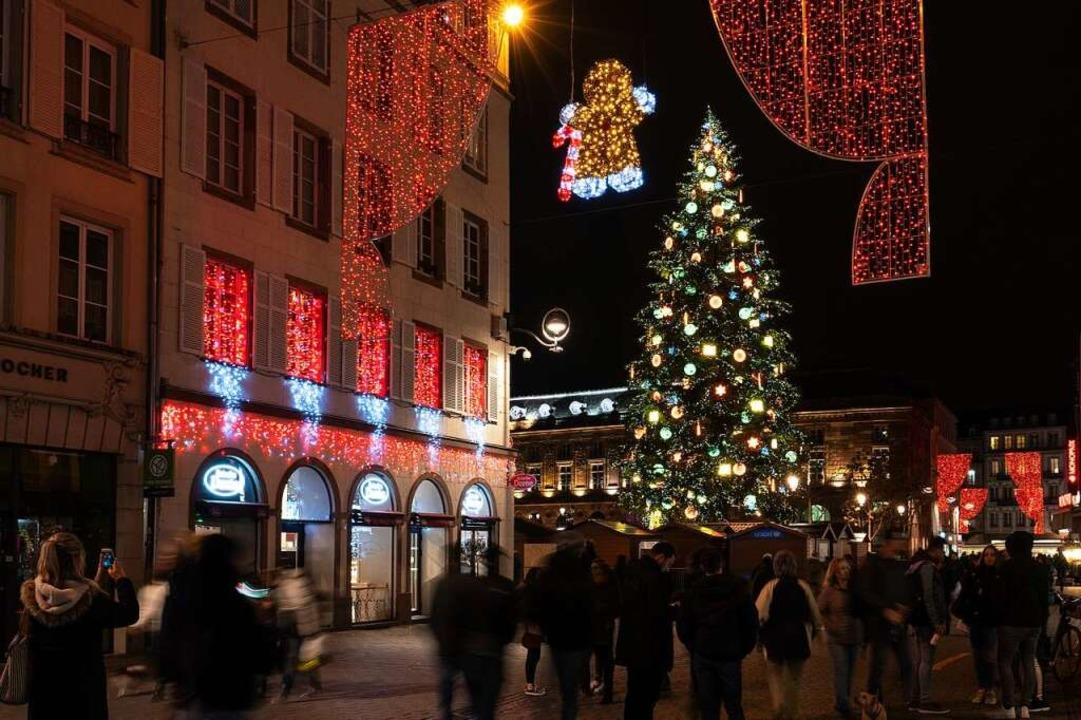 Weihnachtsmarkt I.Straßburg Steht Noch Immer Unter Schock Straßburg Badische Zeitung