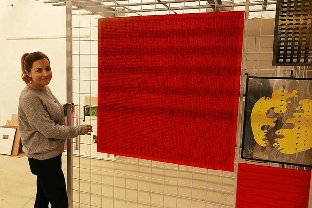 Im Depot der Kunsthalle Messmer lagert Kunst, die gerade nicht ausgestellt wird
