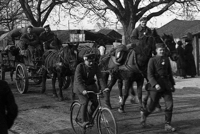 Vor 100 Jahren kamen deutsche Soldaten aus dem Weltkrieg zurück