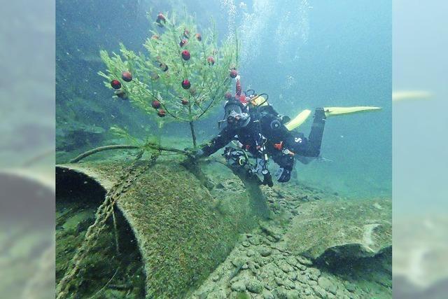 Weihnachten im Wasser